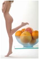 Donna con arance